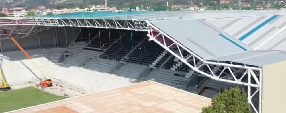 Stadio, rush finale per la nuova Nord Giovedì il collaudo decisivo