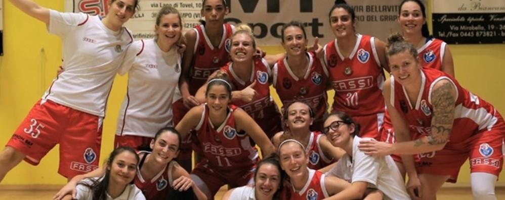 Basket, Fassi Albino bene la prima Battuto Sarcedo all'esordio in A2