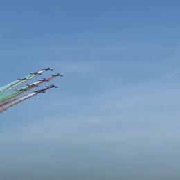 Le Frecce Tricolori partono da Orio