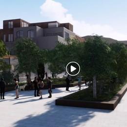 Spazio Fase, un nuovo progetto Un video ripensa all'area di Alzano