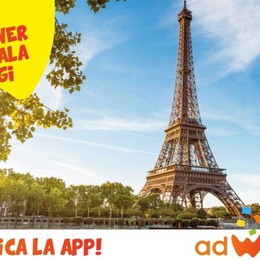 AdWinner, l'istant win de «L'Eco» Sabato 7 in palio un viaggio a Parigi