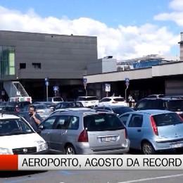 Aeroporto - Al Caravaggio un agosto da record