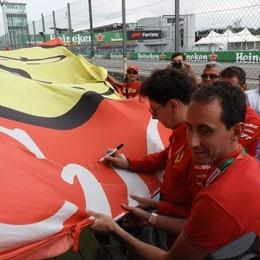 «Charles l'erede di Schumacher» Festa per i 300 fans del club di Caprino