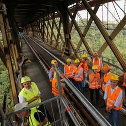 Il Ponte San Michele riapre in anticipo Via libera alle auto dall'8 novembre