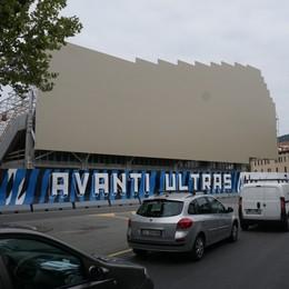 La Soprintendenza al cantiere dello stadio Modifiche ai lavori delle facciate laterali