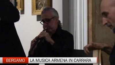 La suggestiva musica armena invade l'Accademia Carrara