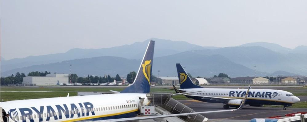 Orio, agosto  boom per l'aeroporto Oltre un milione di passeggeri