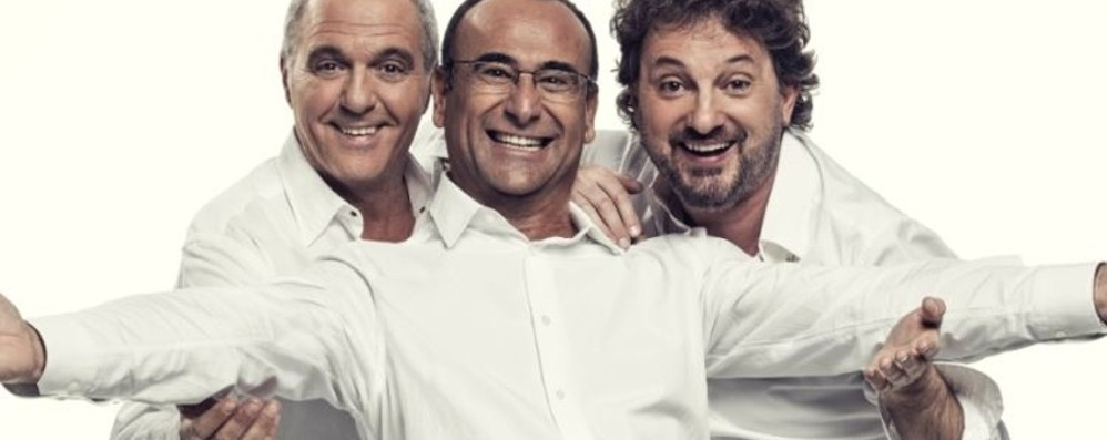 Panariello, Conti e Pieraccioni a Bergamo Il trio raddoppia: show il 17 e 18 dicembre