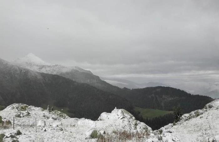 La vista dal rifugio Balicco