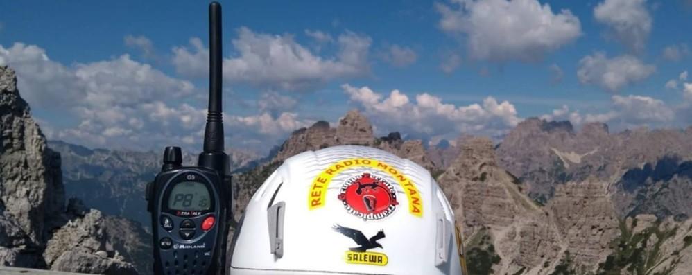 Soccorsi in montagna Aumenta la rintracciabilità