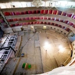 Teatro Donizetti, corsa per la riapertura Si fa l'impossibile per il 16 novembre