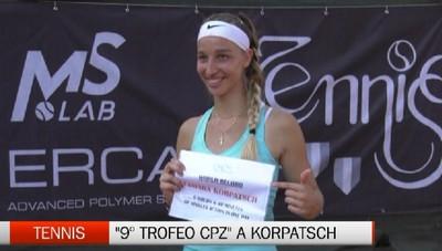 Tennis: 9.a edizione Trofeo CPZ