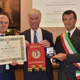 Gasperini cittadino onorario di Bergamo «Il regalo più bello della mia vita» - Foto