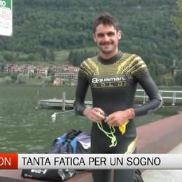 Triathlon, la storia di Michele Sarzilla