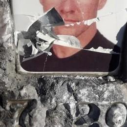 Foto ricordo sfregiate in vetta «Un gesto inqualificabile»
