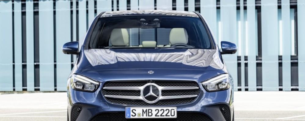 Mercedes Classe B più dinamica e sportiva