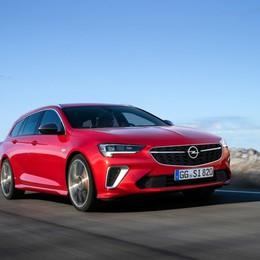 Opel Insignia Gsi ammiraglia sportiva