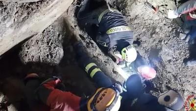 Salvati due cani dai Vigili del fuoco bergamo interviene nel Bolognese