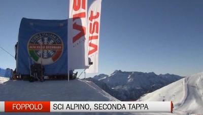 Sci alpino, seconda tappa giovanile a Foppolo