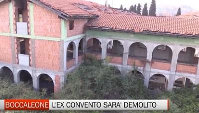 Boccaleone: inizia la demolizione dell'ex convento
