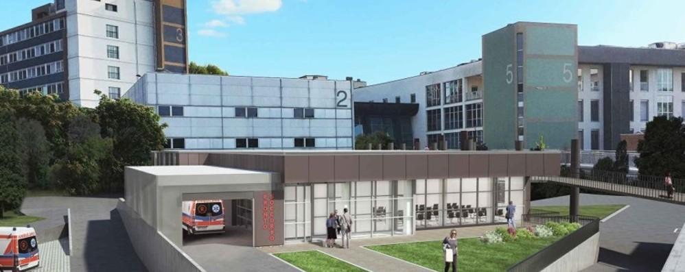 Nuovo edificio e spazi raddoppiati per il Pronto soccorso di Seriate