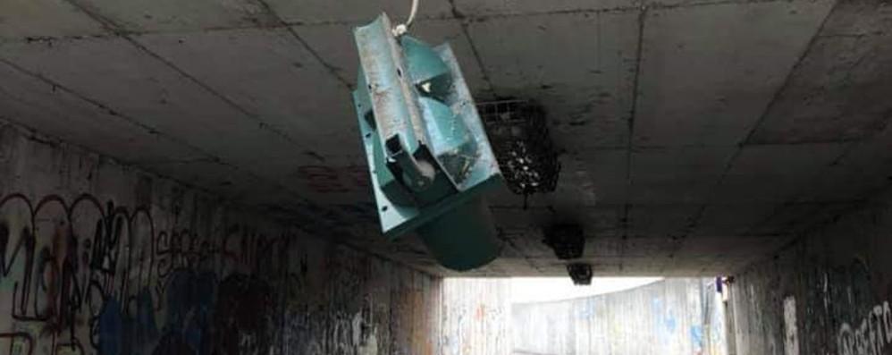 Scoperti gli autori del raid al sottopasso Sono sette minorenni: «Ora rimborsino»