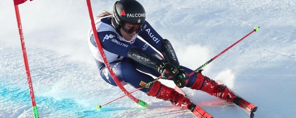Slalom gigante, vince la Brignone La bergamasca Sofia Goggia è nona
