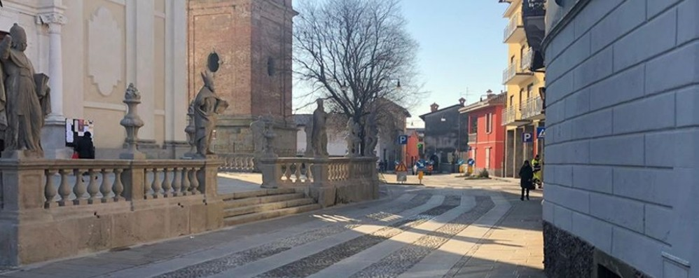 Stezzano, riapre via Dante - Foto Viabilità regolare e nuovi parcheggi