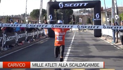 Carvico, la Scaldagambe Winter Trail 2020