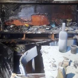 Ferito nell'esplosione della bombola a gas È morto il pensionato di Valtorta