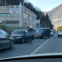 Incidente tra due auto a Casnigo Tre feriti in Val Gandino - Foto