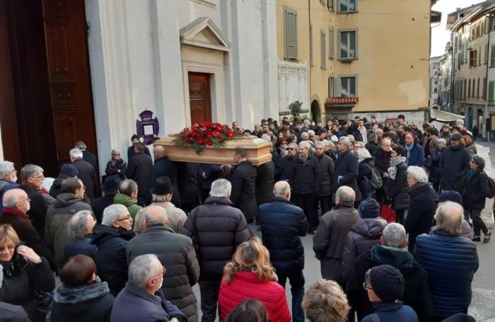 I funerali di Claudio Ongaro