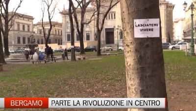 Lunedi parte la rivoluzione del centro piacentiniano a Bergamo