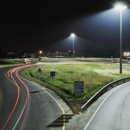 Più sicurezza su strade e gallerie con i led La Provincia sostituisce 10.530 punti luce