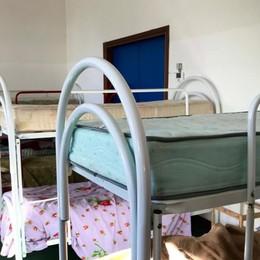 Senza dimora, nuovo spazio a Bergamo  A Castagneta quattordici posti letto