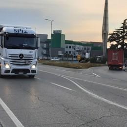 Troppo traffico sulla Francesca Oltre 21mila veicoli ogni giorno