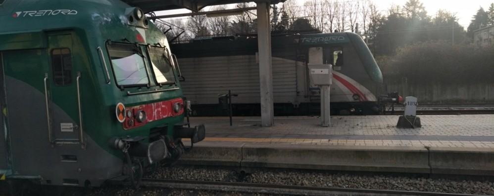 Uomo investito al passaggio a livello Interrotta la Bergamo-Milano via Carnate