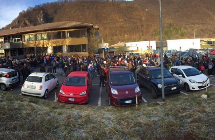 protesta turoldo di Zogno