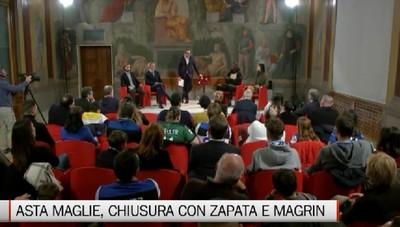 Asta maglie Atalanta, chiusura con Zapata e Magrin