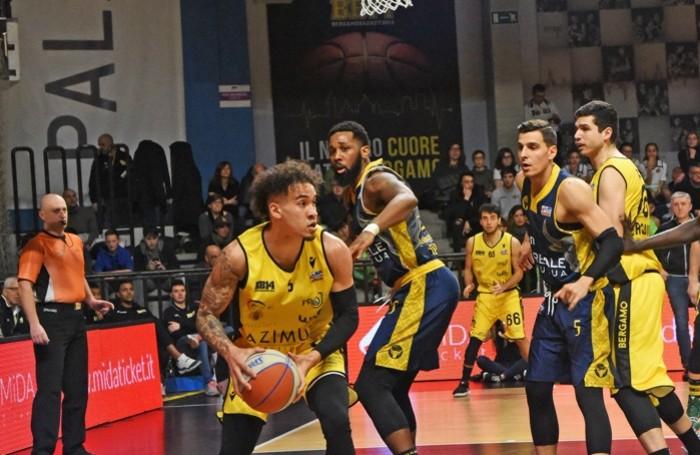 Bergamo Basket sconfitta