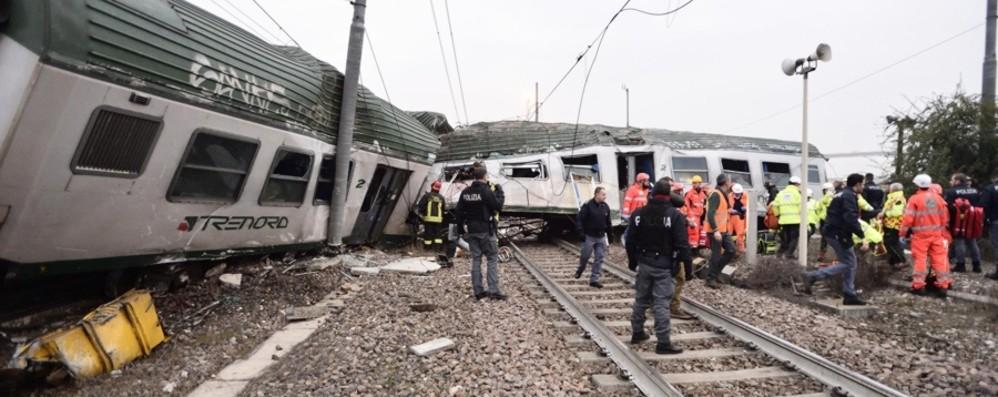 Disastro di Pioltello, sabato il ricordo «Dossier sulla sicurezza delle ferrovie»
