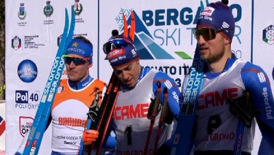 Bergamo Ski Tour, vittoria di Federico Pellegrino