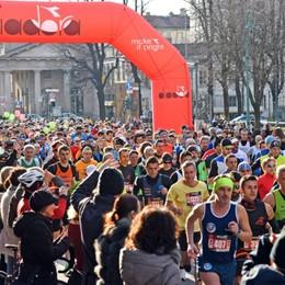 Bergamo, un fiume di podisti- Foto/Video I risultati della mezza maratona