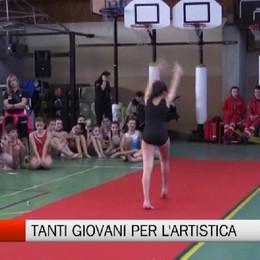 Csi - Tanti giovani per la ginnastica artistica
