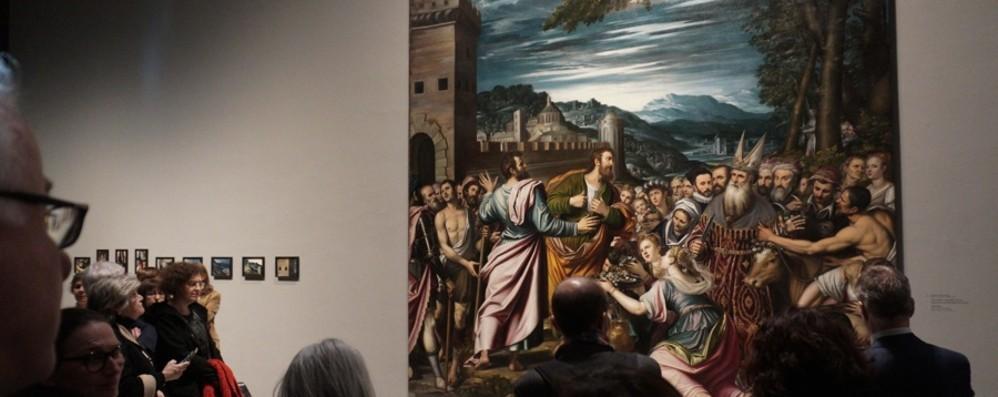 Ecco Peterzano, l'allievo maestro Al via la mostra in Accademia Carrara