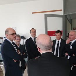 «I cittadini vogliono sentirsi sicuri» Il viceministro Mauri a Bergamo