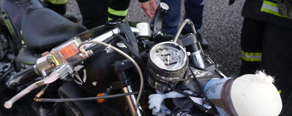 Travolto in A4 mentre va al lavoro Muore motociclista di 54 anni - Foto