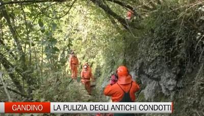 Val Gandino, al lavoro la Squadra Antincendio Protezione Civile
