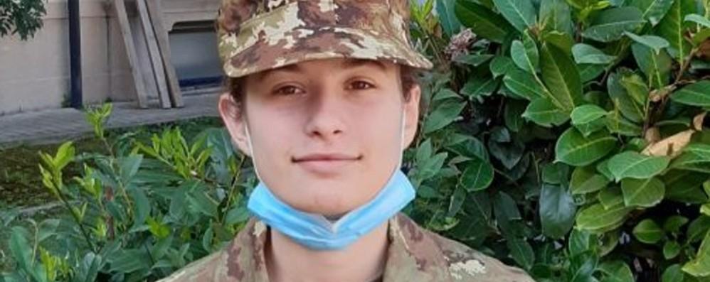 A 16 anni Sofia corona il suo sogno Ammessa alla scuola militare Teuliè