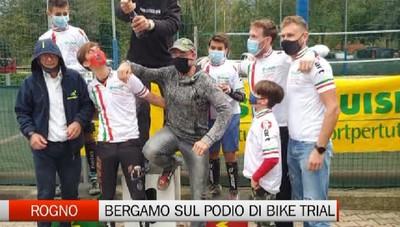Bergamo capitale della Bike trial italiana